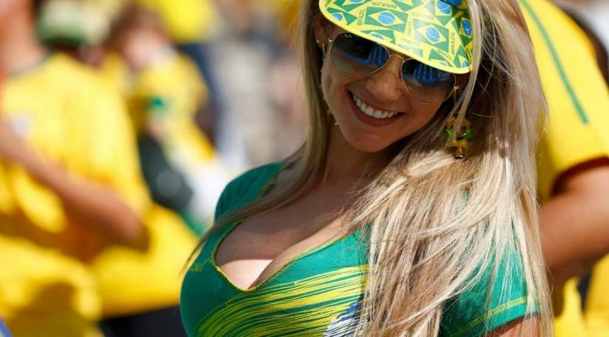 A Little Bit About The Hottest Girls At The World Cup (NSFW)